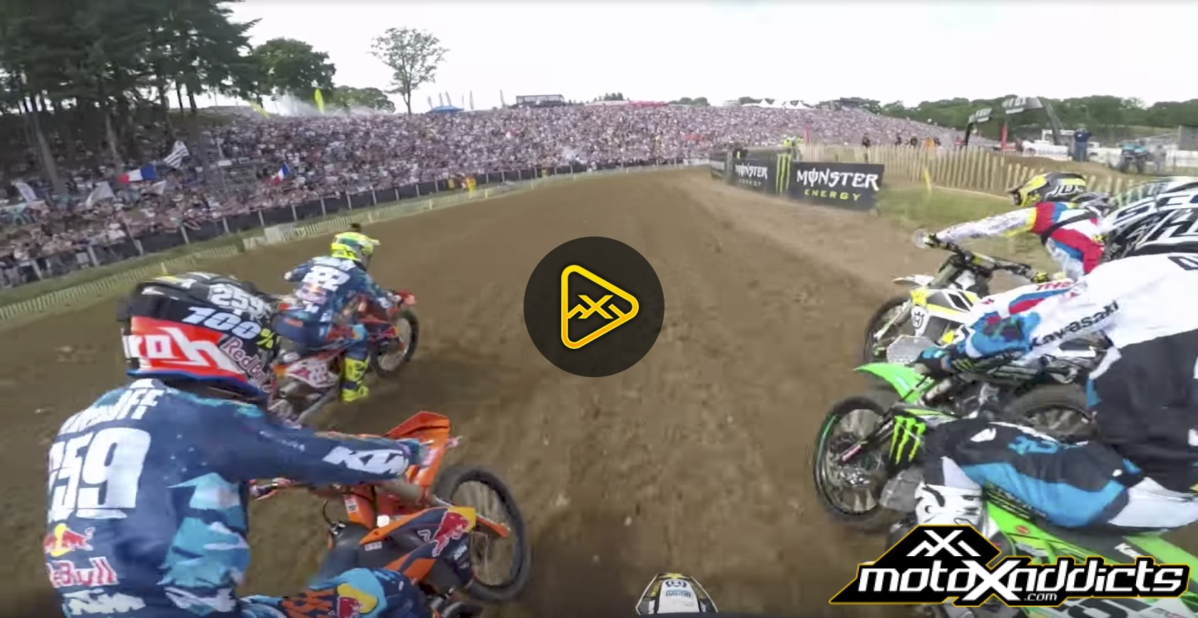 GoPro: Gautier Paulin at 2017 MXGP of France
