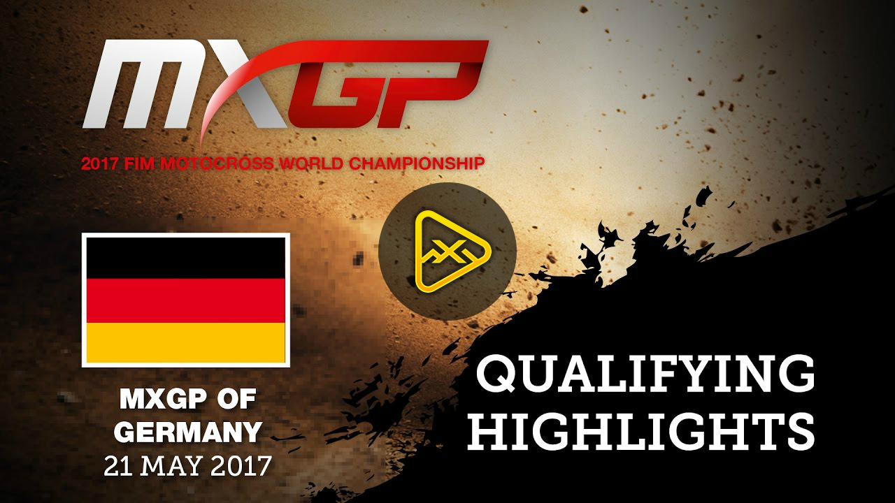 2017 MXGP of Teutschenthal Qualifying Highlights