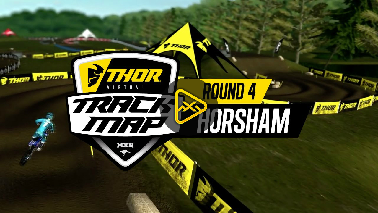 2017 Australian MX Nationals: Rd 4 Horsham Track Map