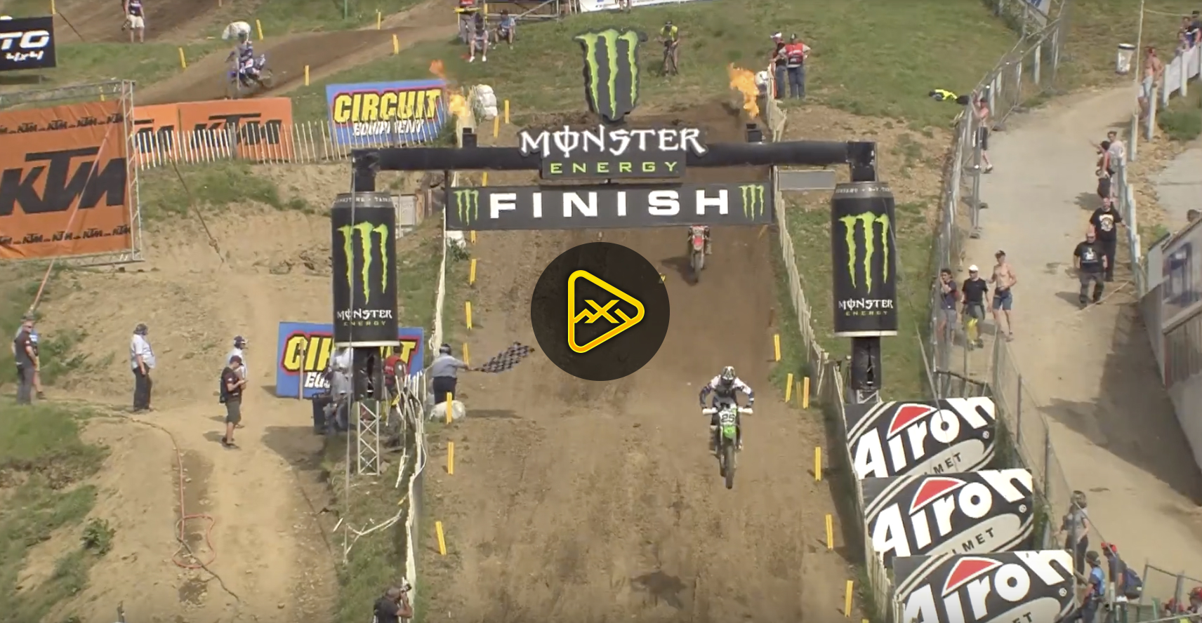 2017 MXGP of France Qualifying Highlights