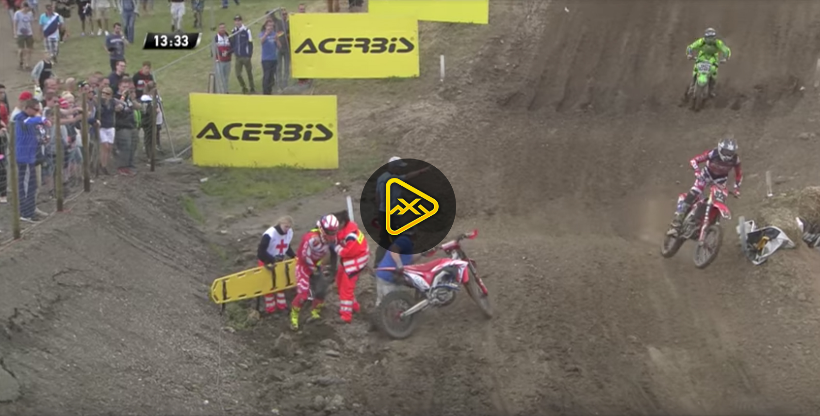 Another Big Crash for Tim Gasjer – MXGP of Germany