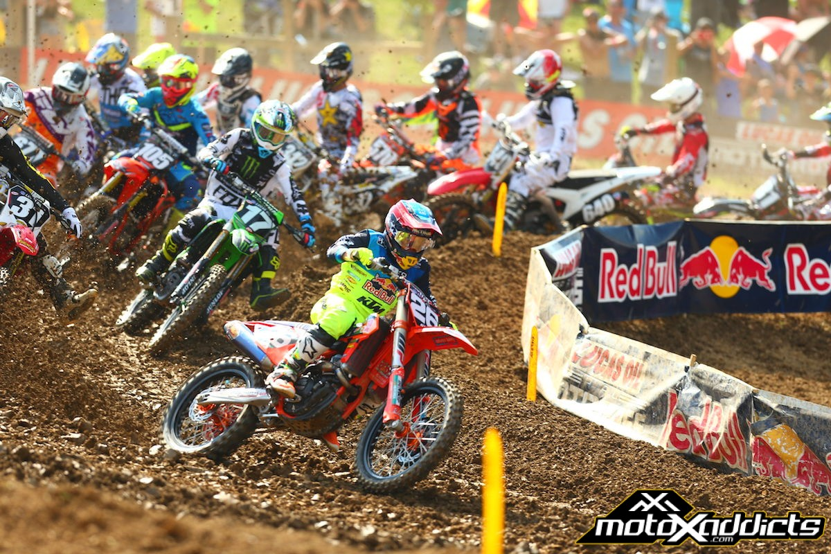 Troy Lee Designs/Red Bull/KTM's Martin Charges to Fifth Place Finish