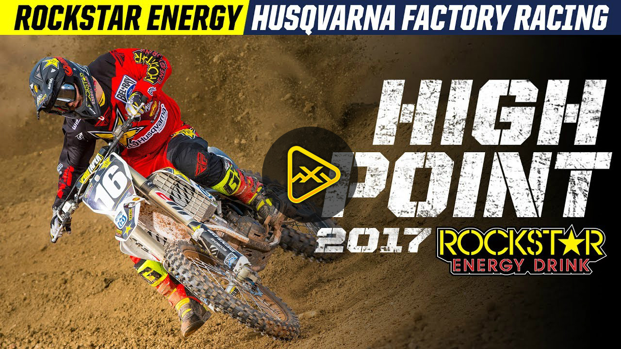 Behind the Scenes – High Point with Rockstar Husqvarna