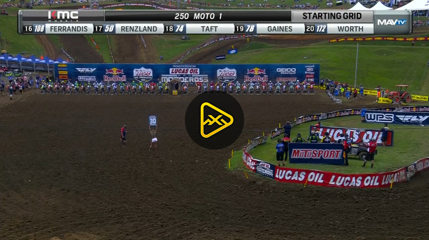 250MX Highlights – 2017 Tennessee National