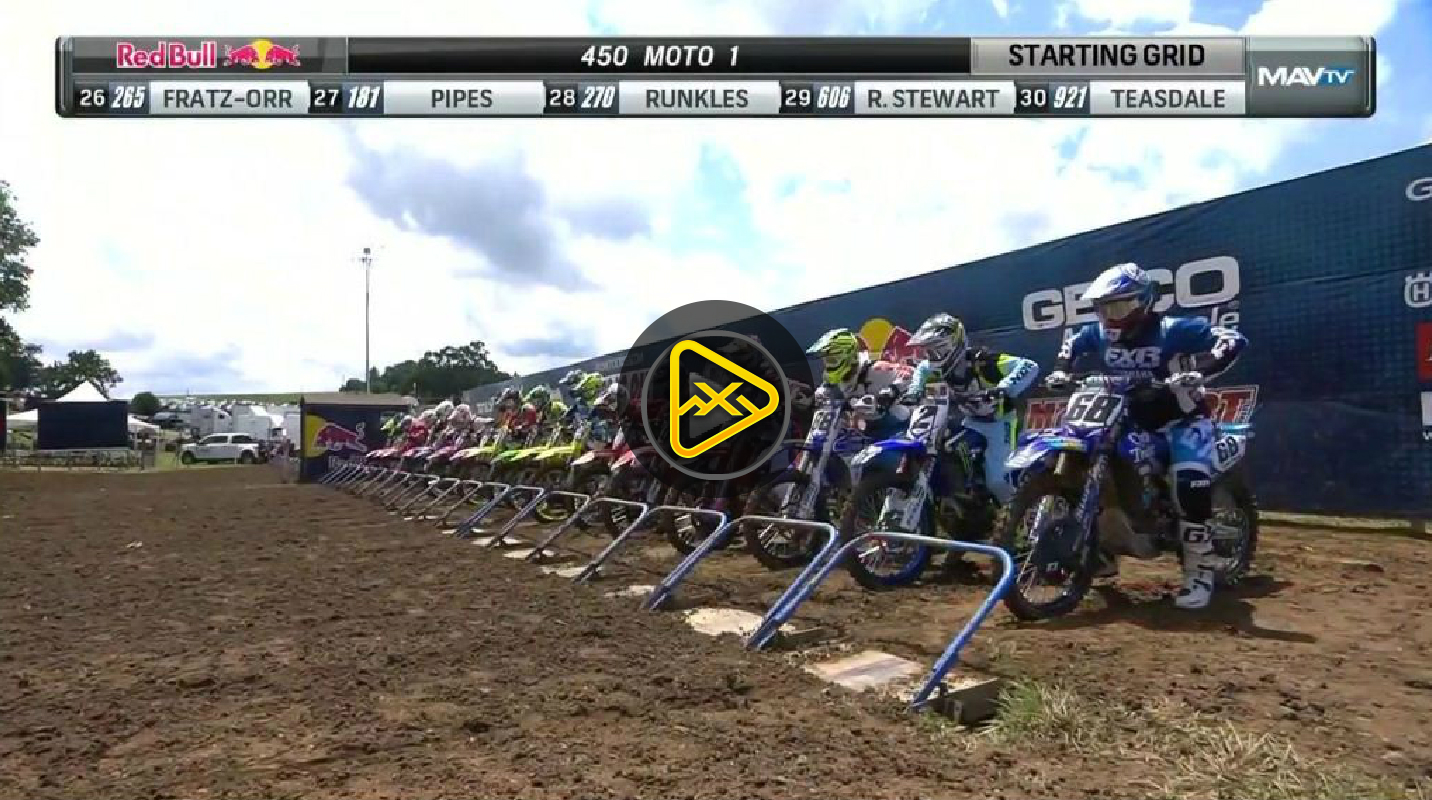 450MX Highlights – 2017 Tennessee National