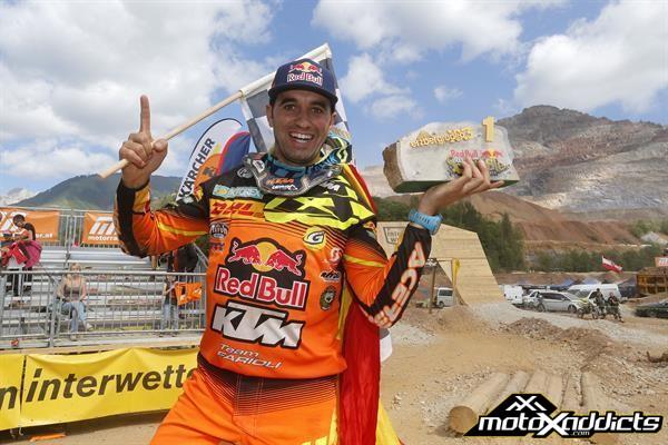 Alfredo Gomez Wins 2017 ErzbergRodeo Hare Scramble