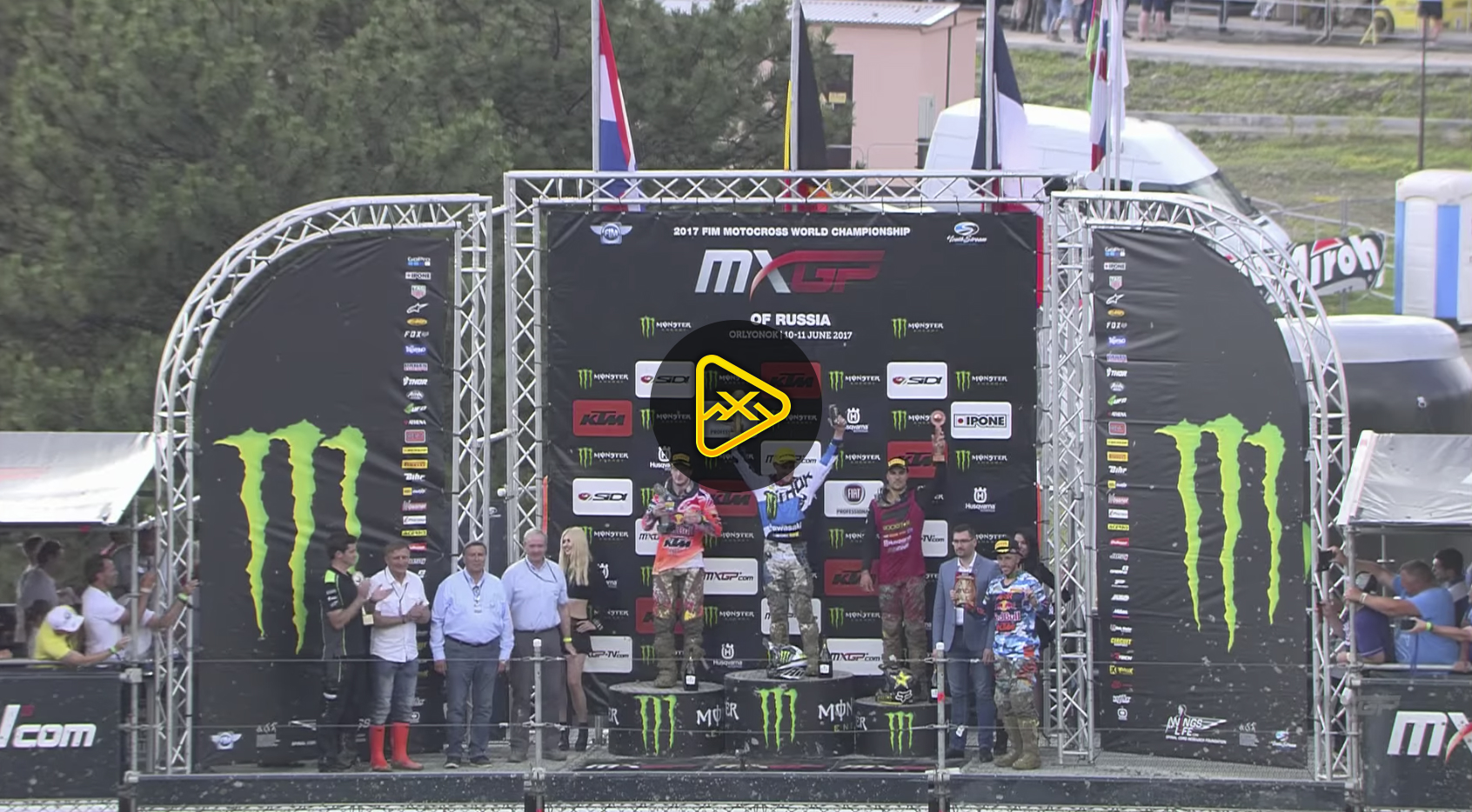 2017 MXGP of Russia Race Highlights