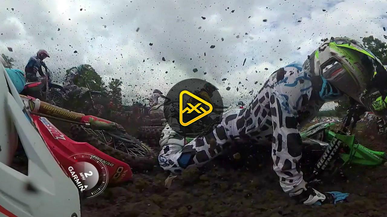 Helmet Cam: 360 Degree Jeremy Martin at Muddy Creek