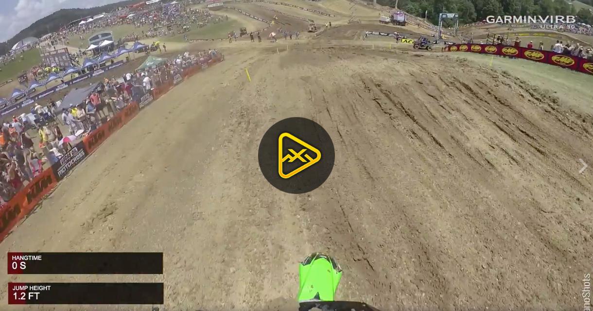 Helmet Cam: Ryan Villopoto on 2-Stroke at High Point
