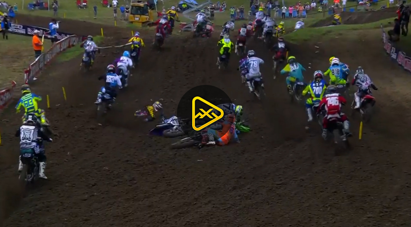 250MX First Turn Pileup – 2017 Tennessee National