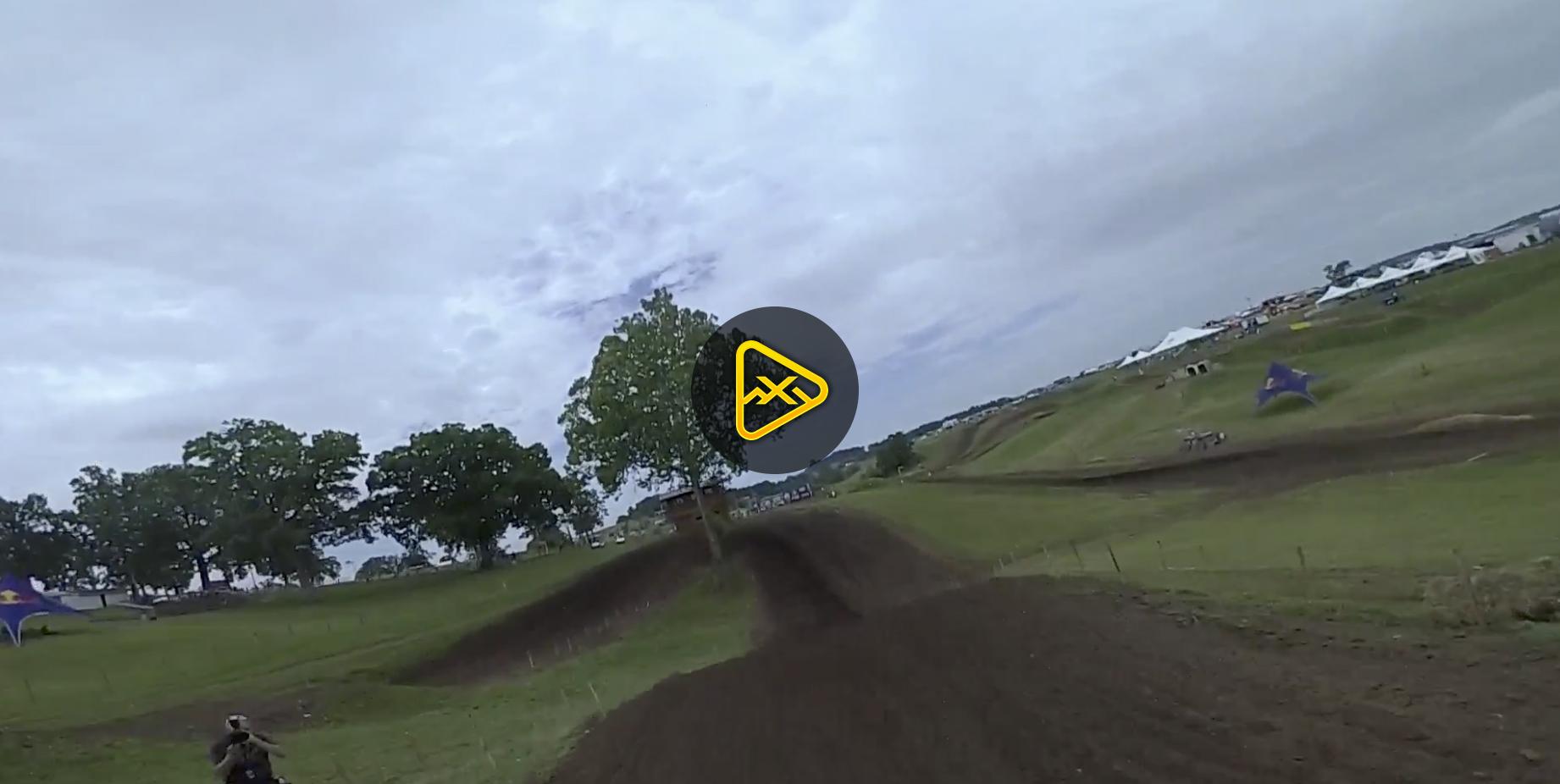 Helmet Cam: One Lap with Dean Wilson on Muddy Creek