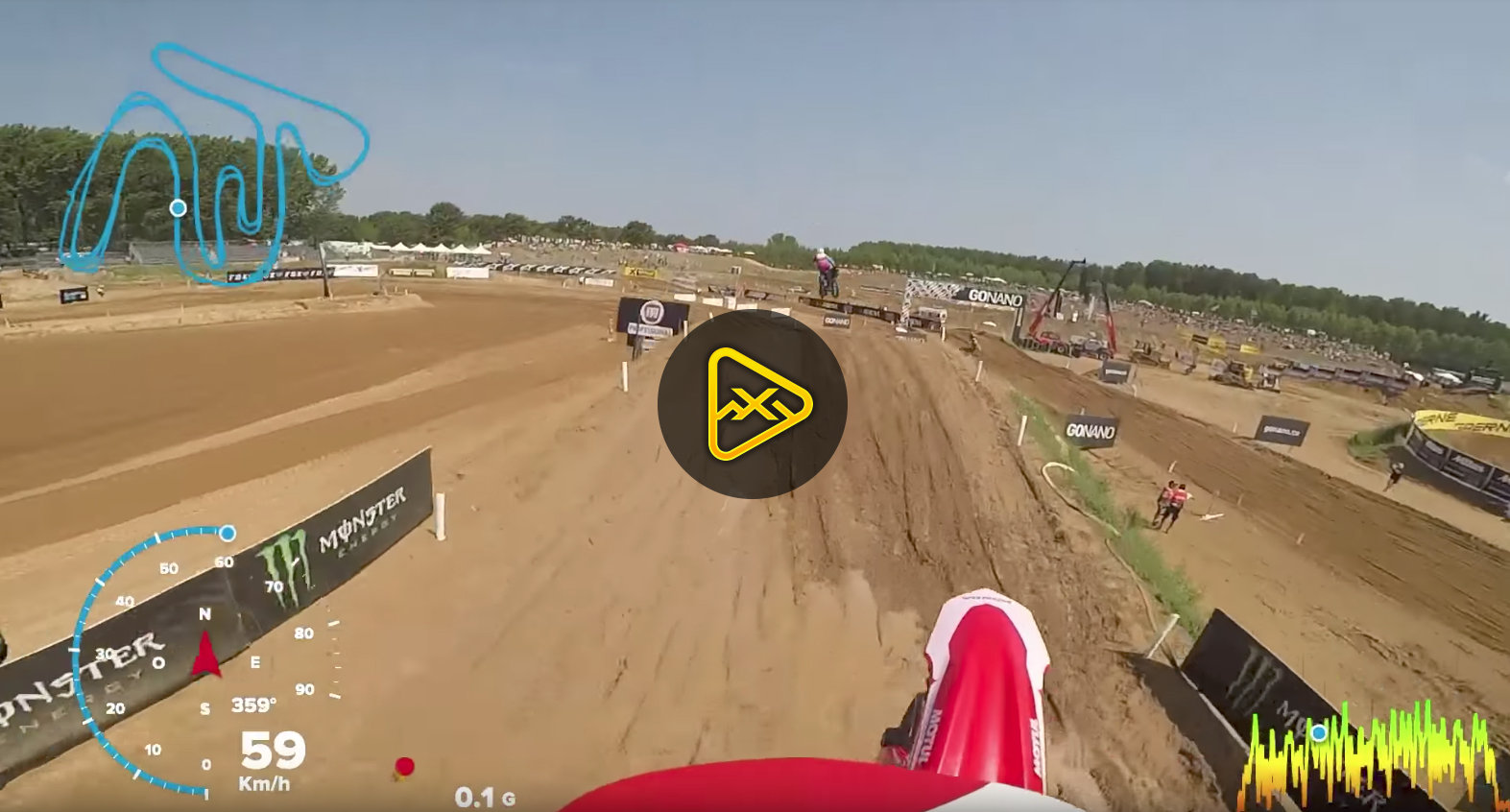 Helmet Cam: Anthony Rodriguez at MXGP of Lombardia