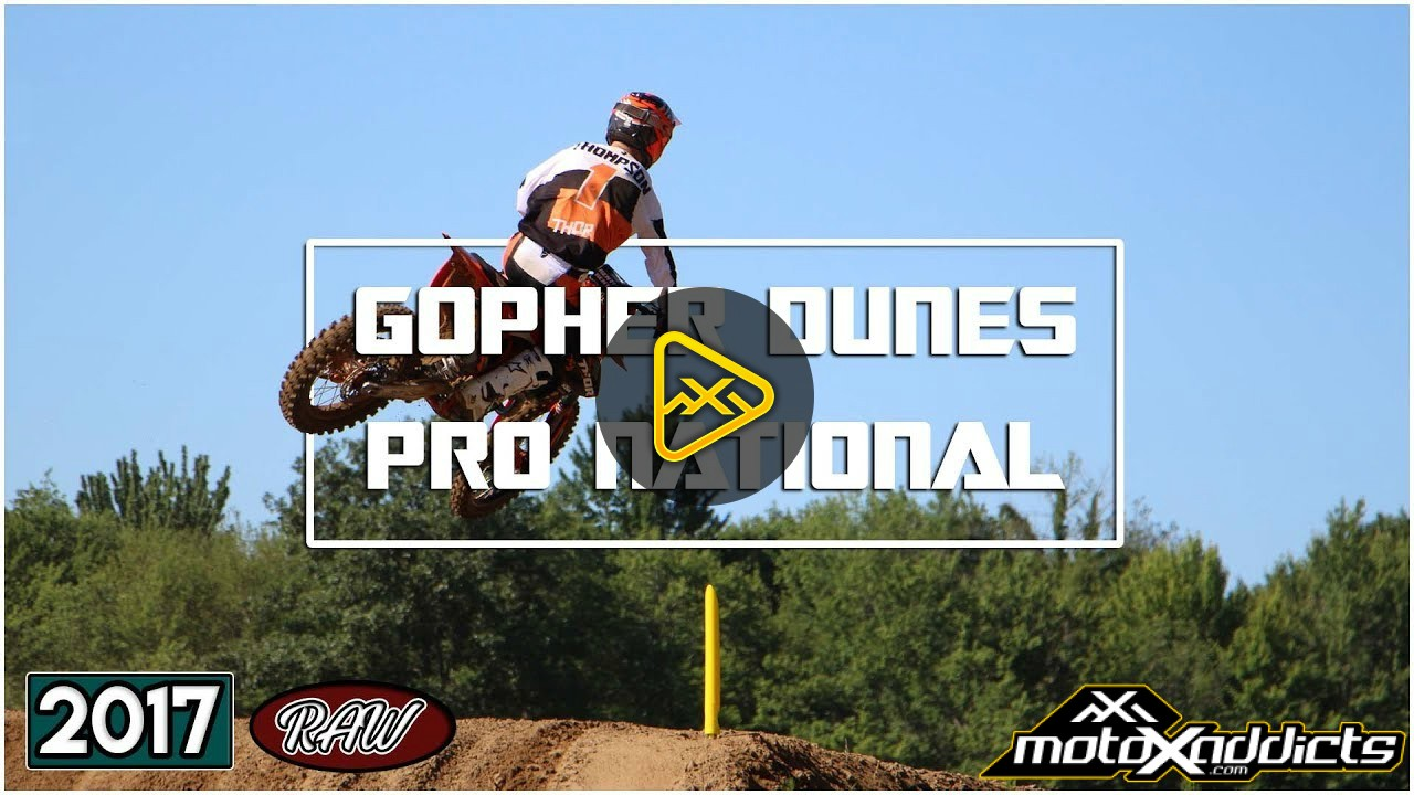 Raw – 2017 Canadian MX-  Rd 5 at Gopher Dunes