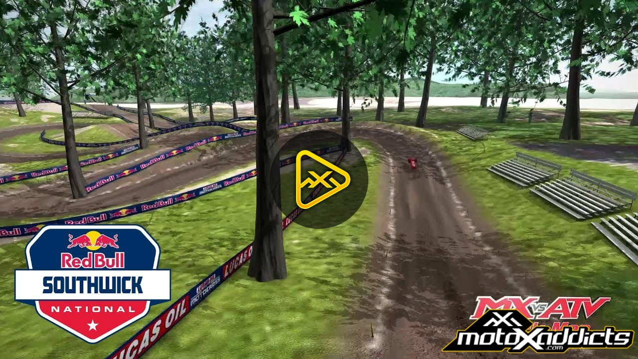 2017 Southwick National Animated Track Map