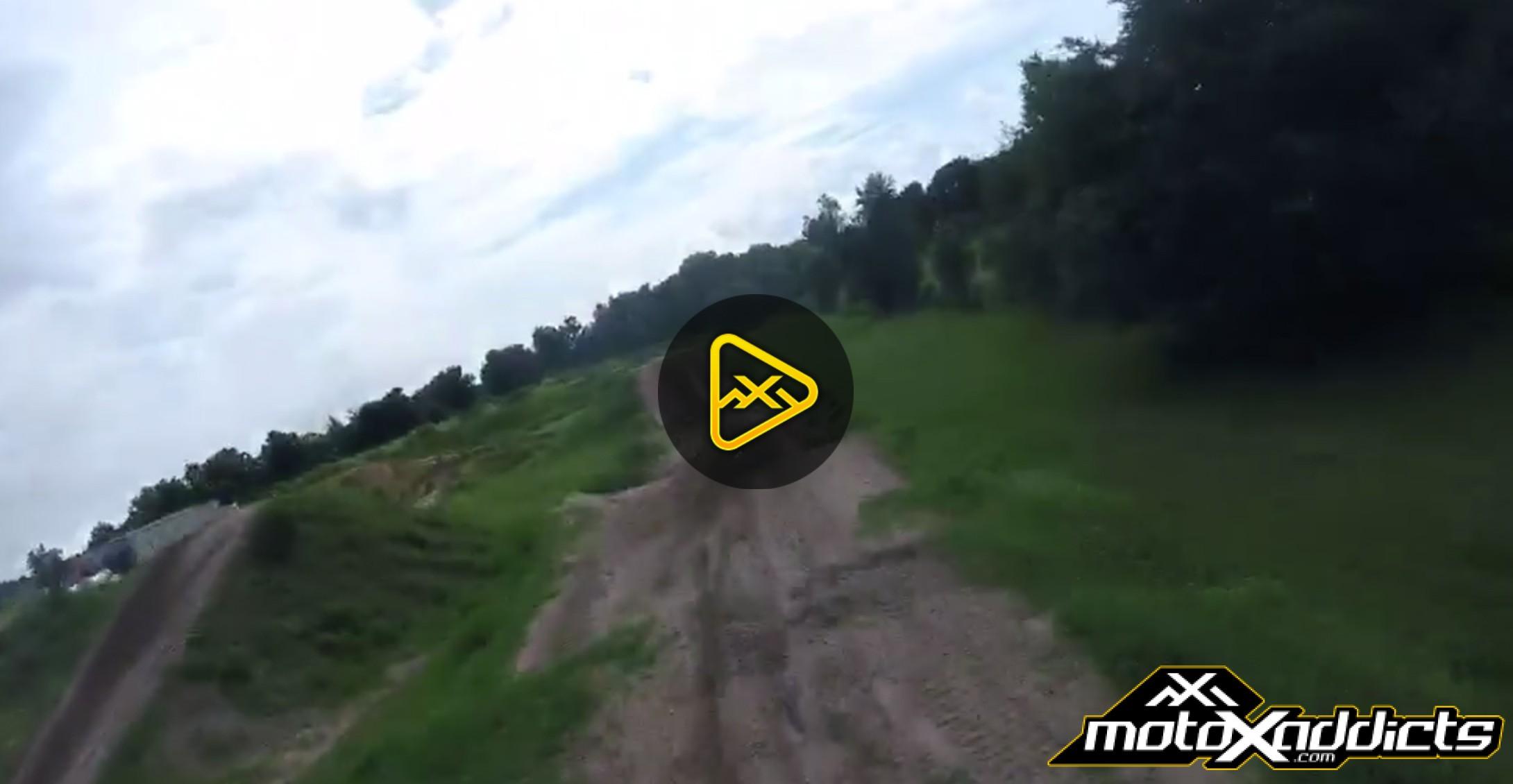 "Helmet Cam: Adam Cianciarulo Training at ""The Nest"""