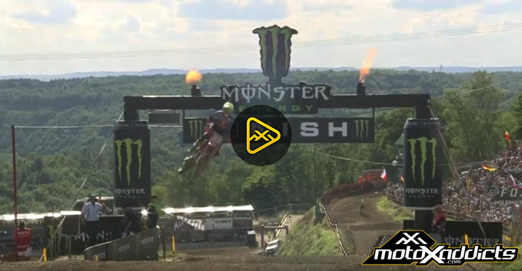 Qualifying Highlights 2017 MXGP of Czech Republic