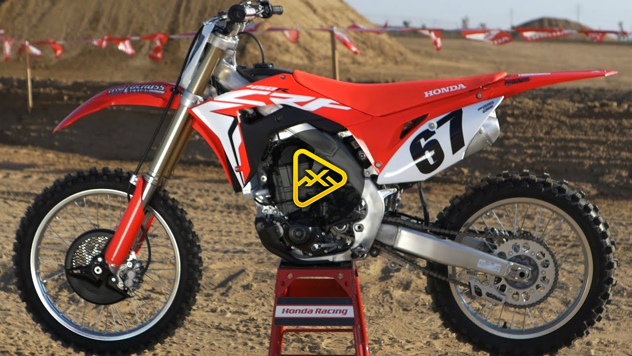 First Ride 2018 Honda CRF450