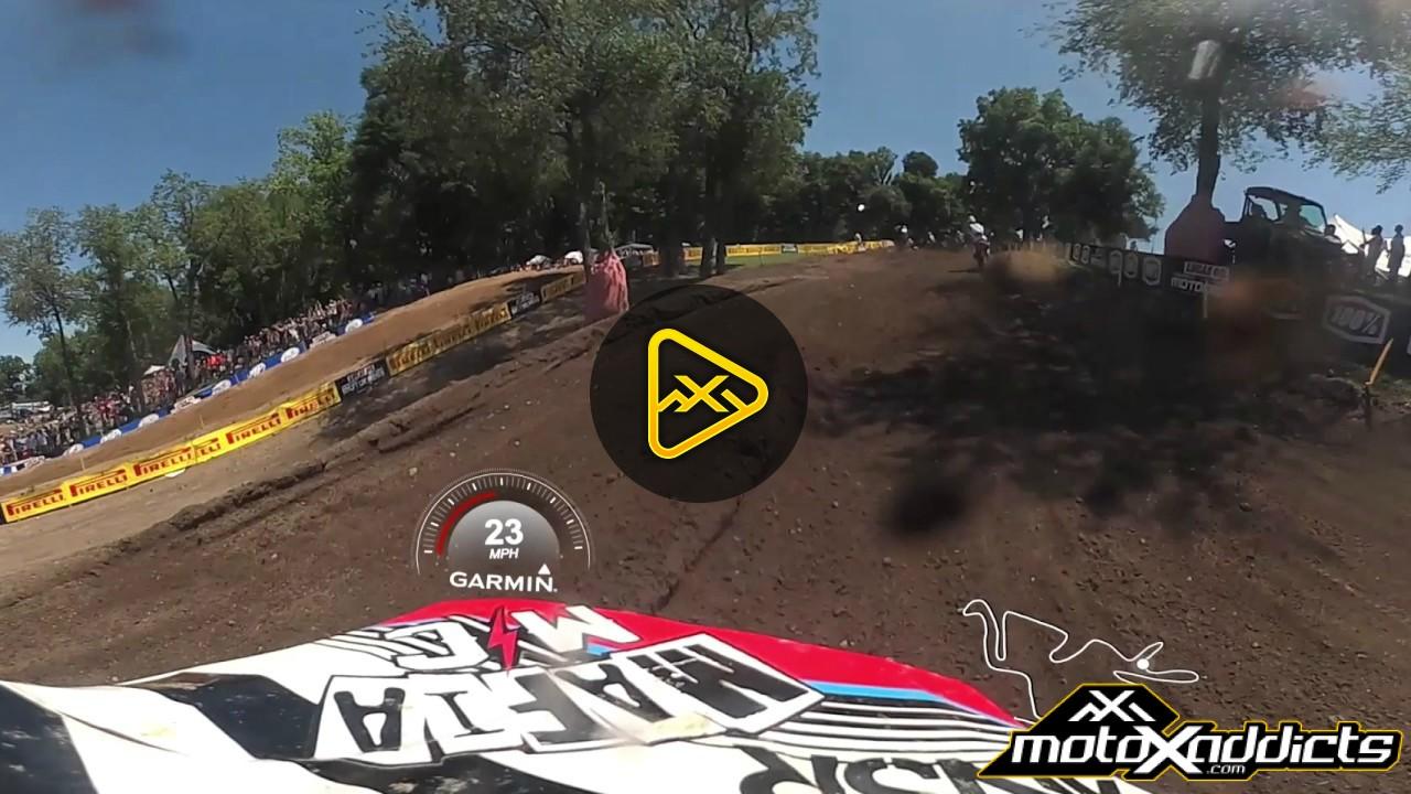 360 Helmet Cam: Nick Wey at 2017 RedBud