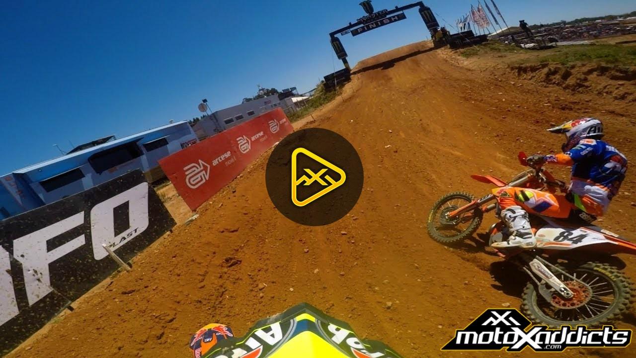 Helmet Cam: Antonio Cairoli at MXGP Portugal Moto 1