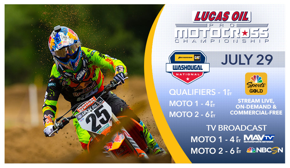 Washougal National Live Stream & TV Schedule
