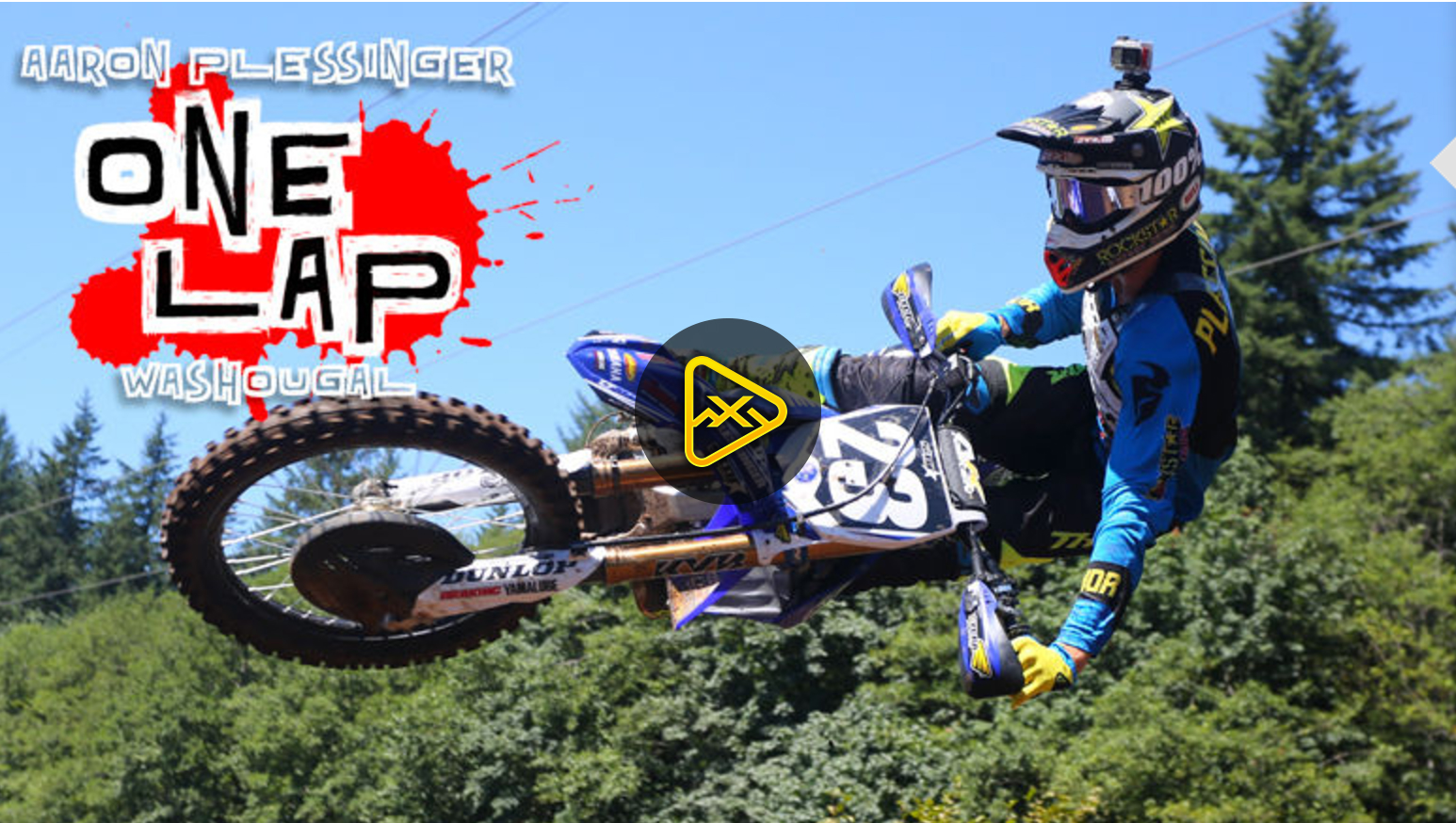 Helmet Cam: One Lap with Plessinger at Washougal