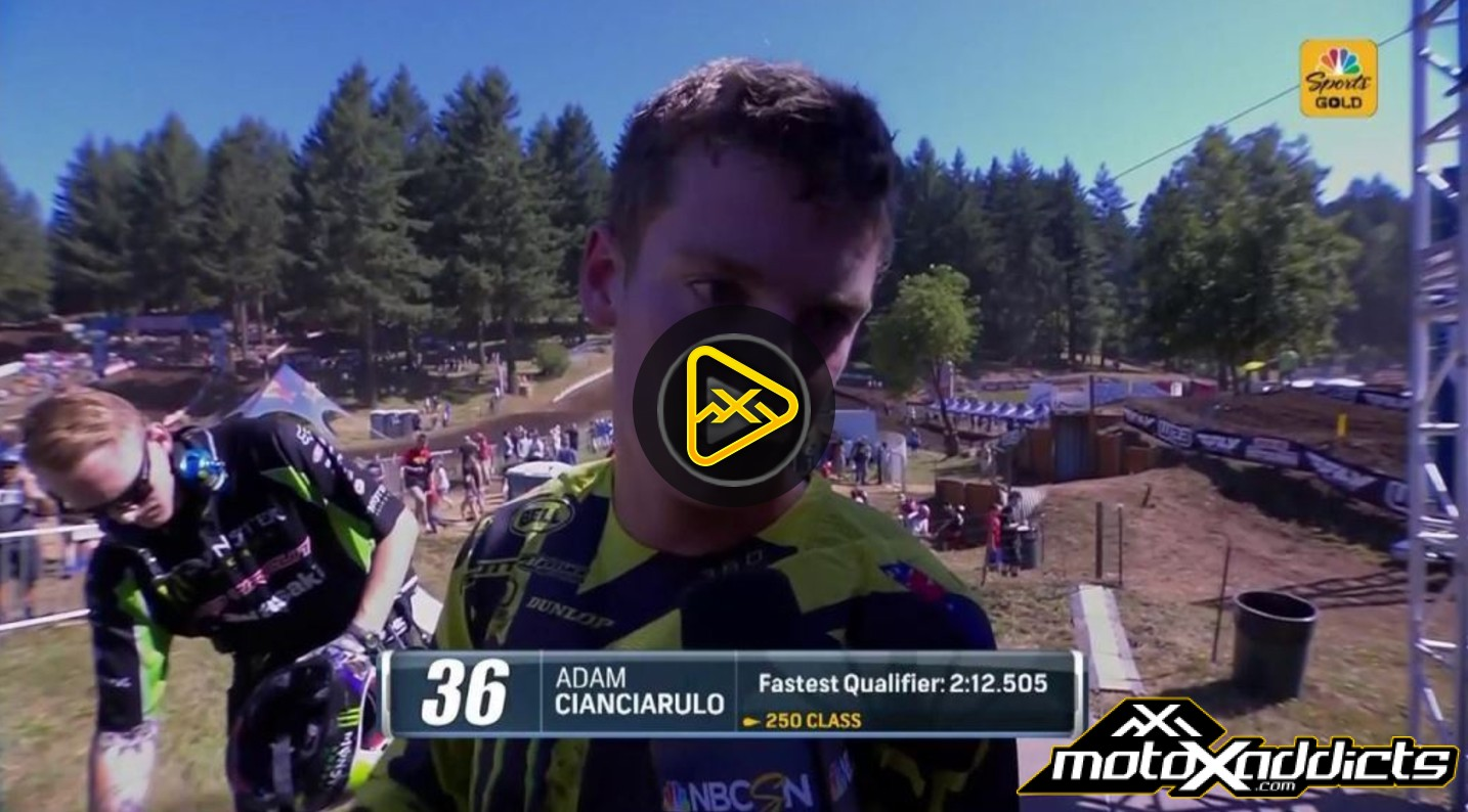 Adam Cianciarulo Interview – 2017 Washougal National