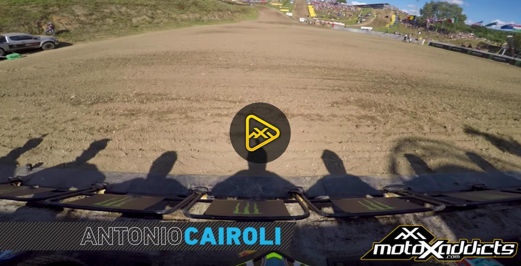 Helmet Cam: Antonio Cairoli at MXGP of Czech Republic