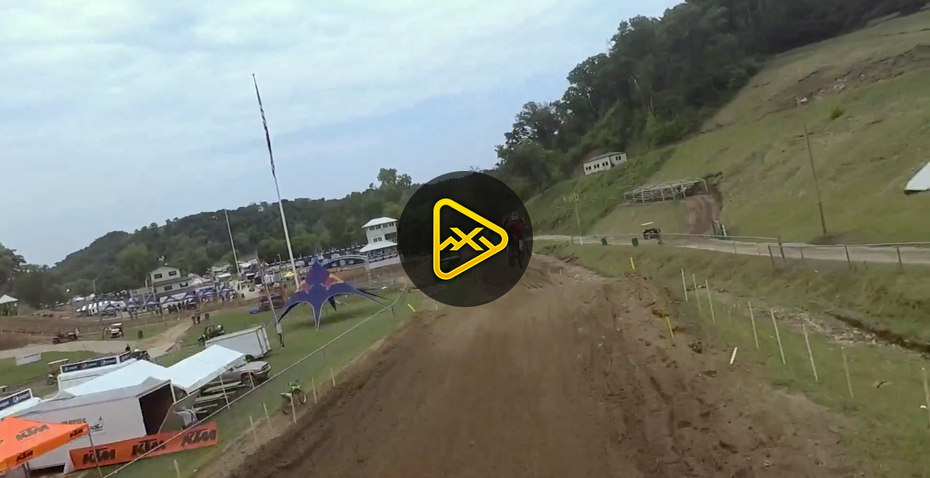 Helmet Cam: One Lap with Jeremy Martin at Spring Creek