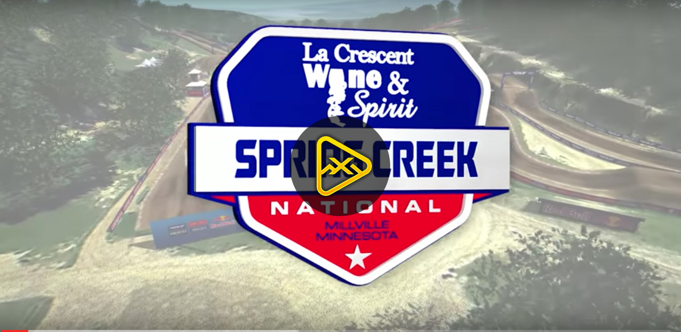 2017 Spring Creek National Animated Track Map