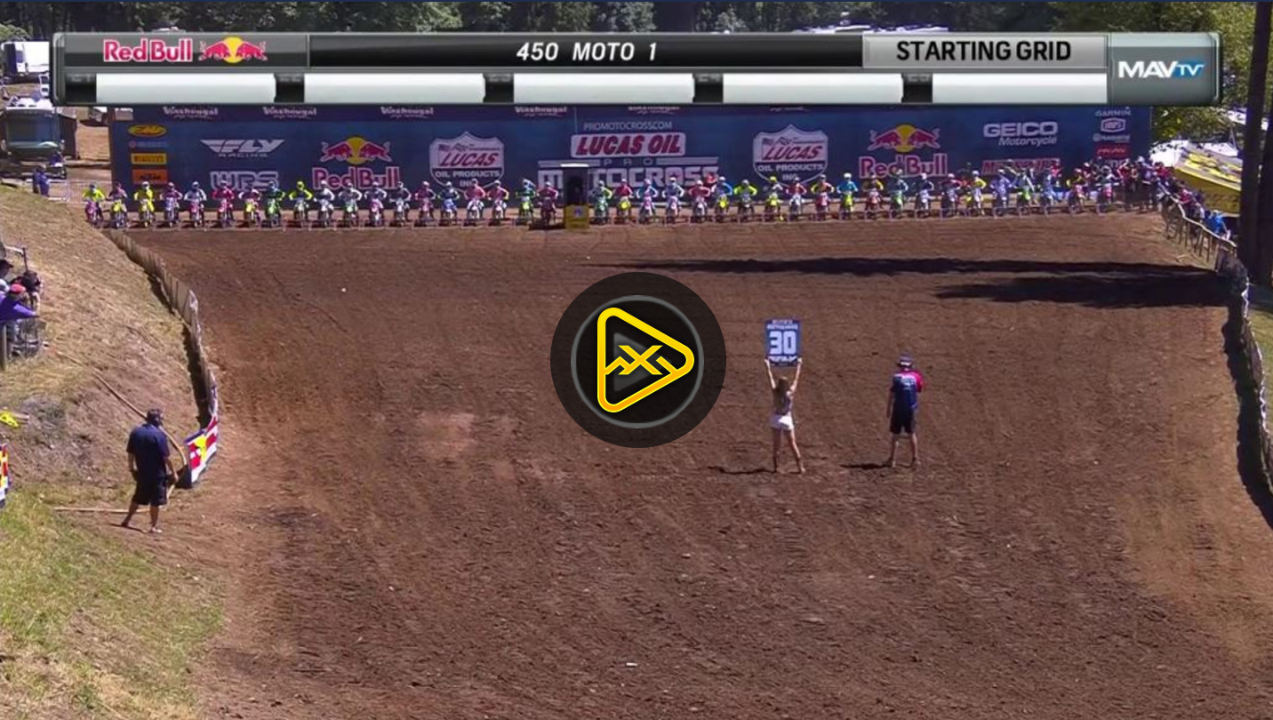 450MX Highlights – 2017 Washougal National
