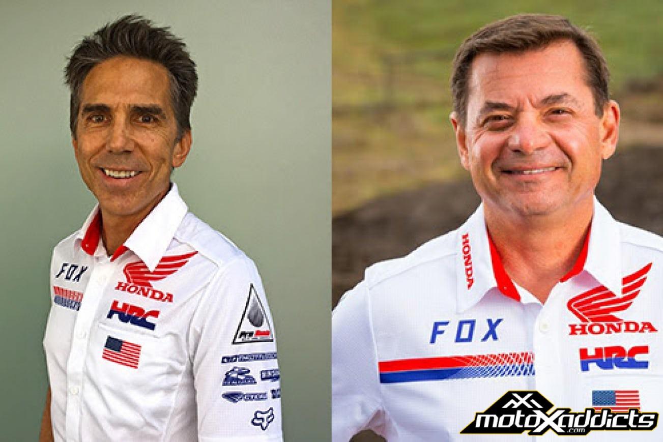 Honda HRC Team Management Changes for 2018 Season