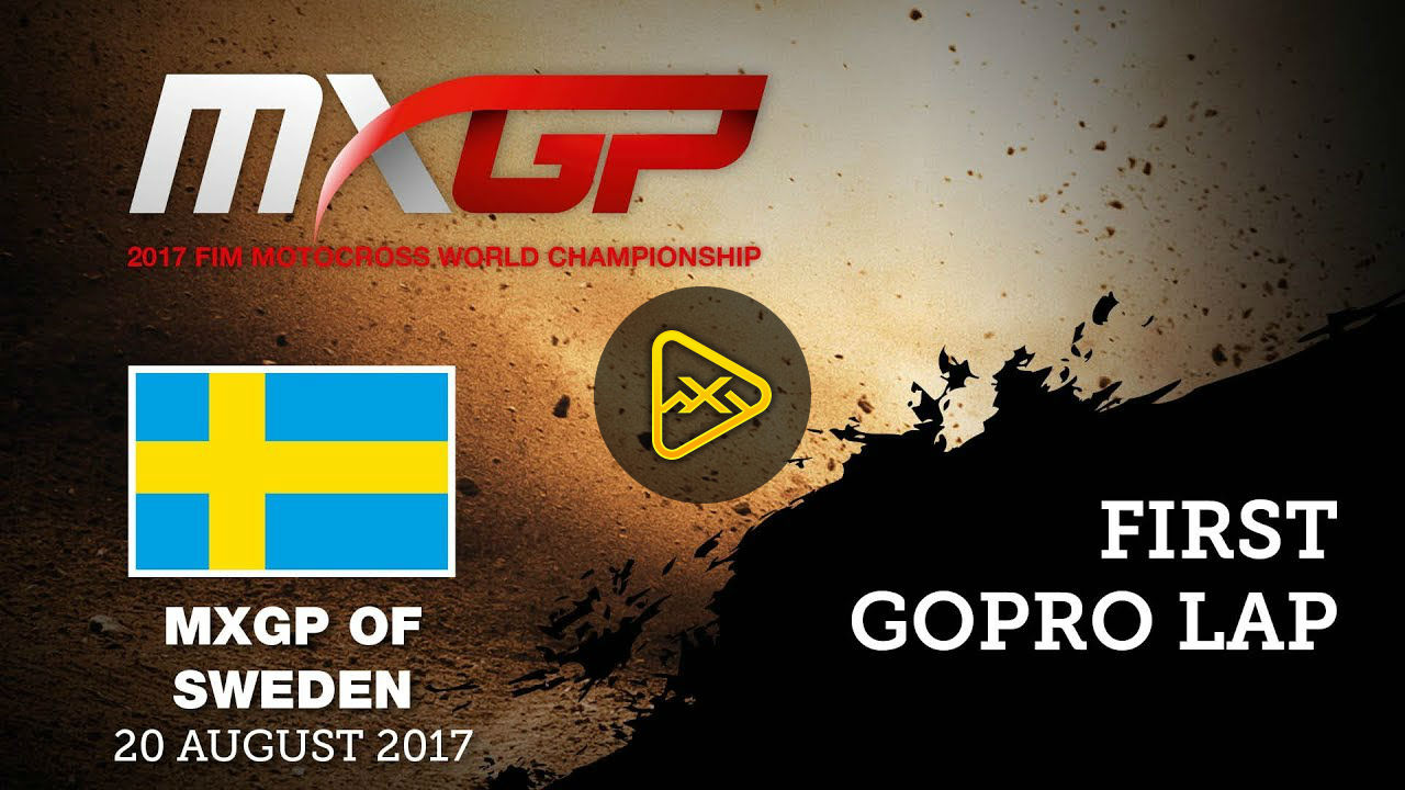 Helmet Cam: Track Preview at MXGP of Sweden