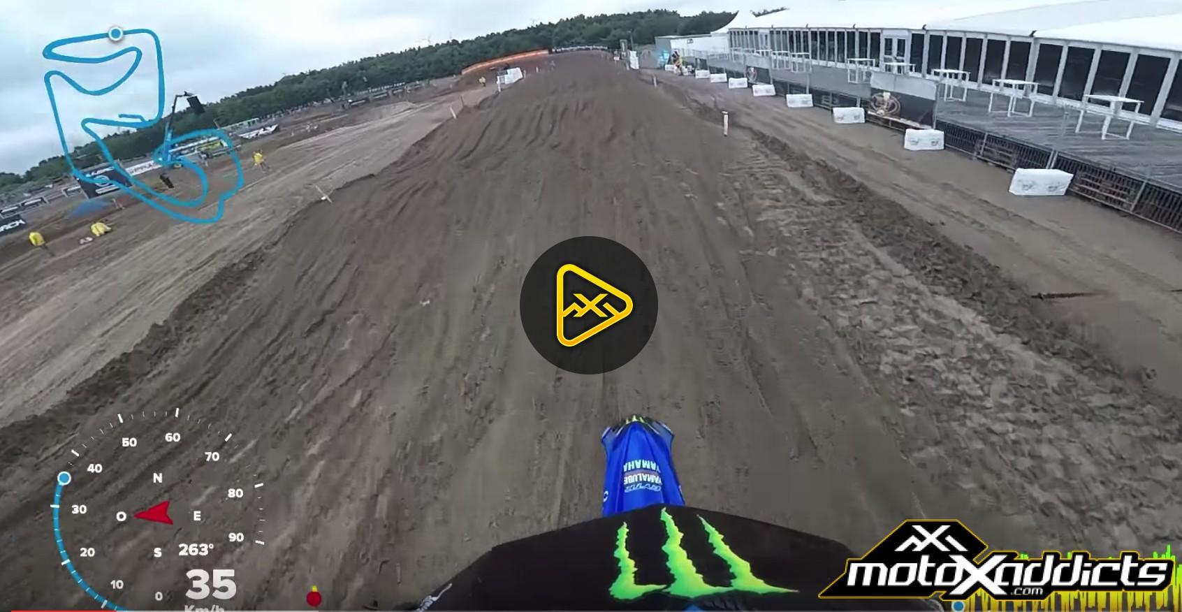 Helmet Cam: Brent Vandoninck Lap around Lommel