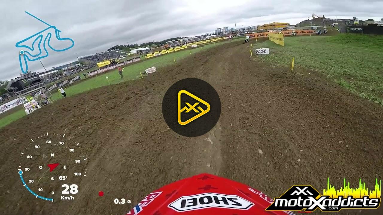 Helmet Cam: Jeremy Seewer at MXGP Switzerland