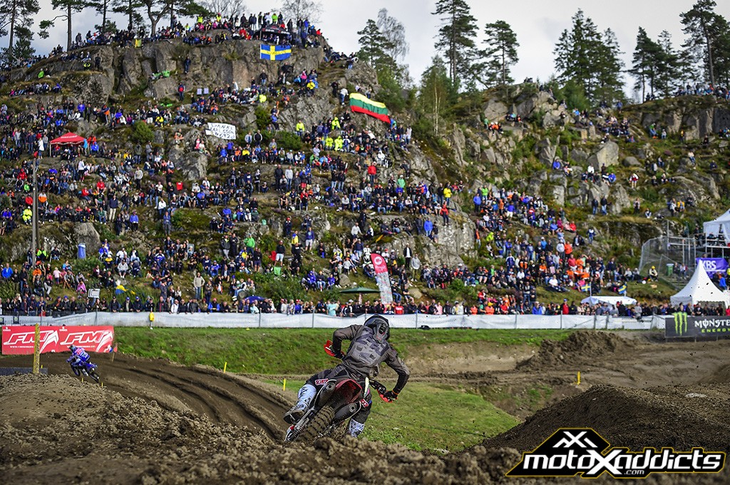 Gajser and Seewer on top at MXGP of Sweden