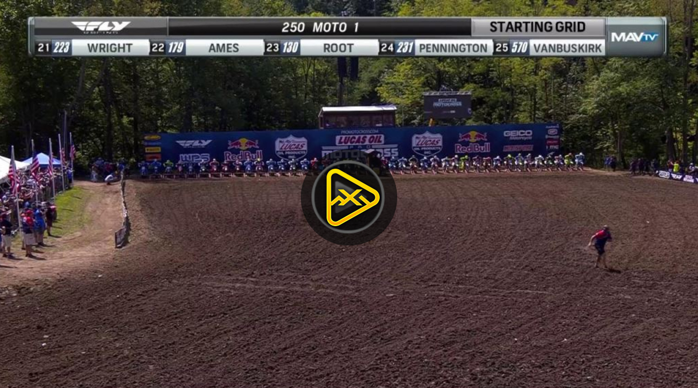 250MX Highlights – 2017 Ironman National