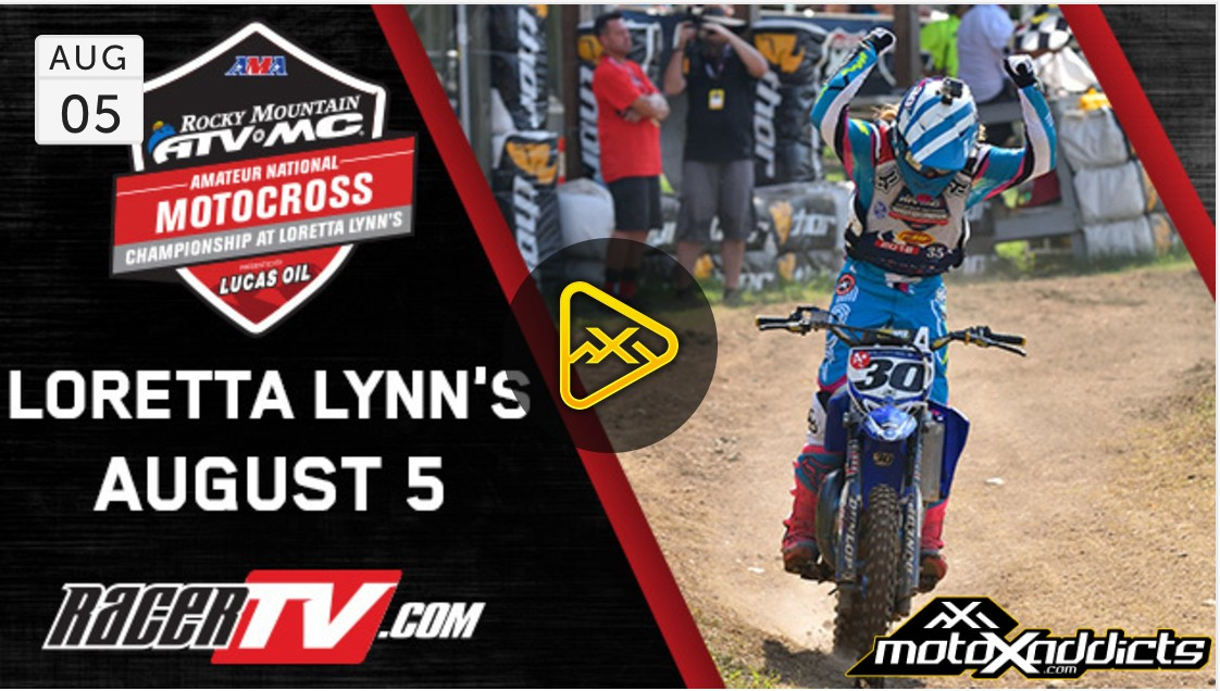 Live Stream Day 5 – Saturday 2017 Loretta Lynn's Amateur MX