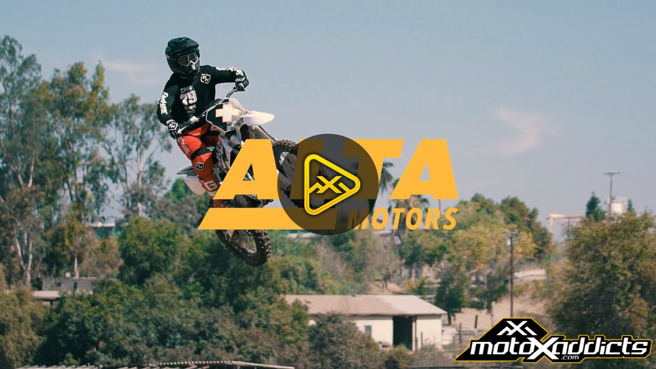 Alta Electric Supercross test with Darryn Durham