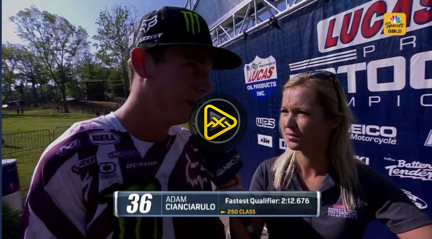 Adam Cianciarulo Interview – 2017 Ironman National