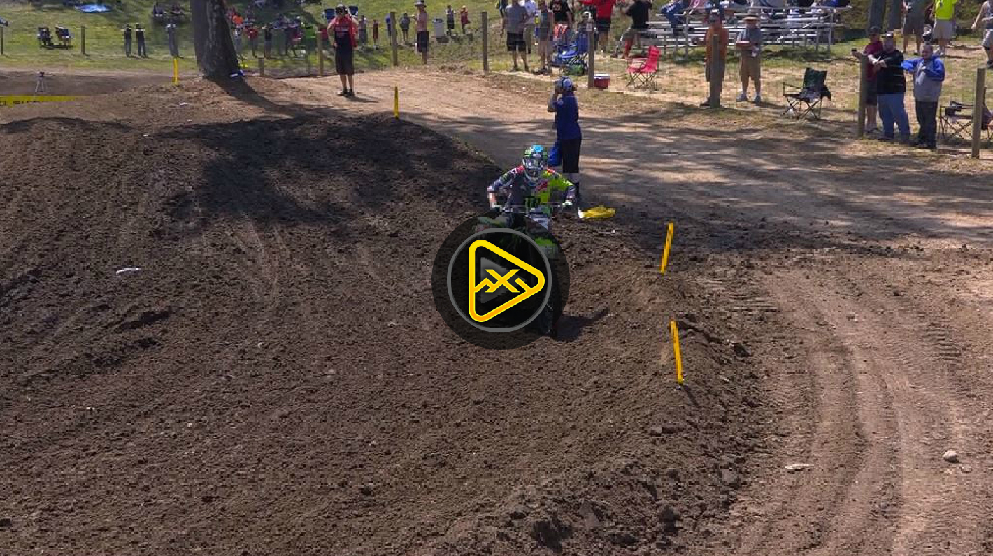 Eli Tomac Crash – 2017 Ironman National
