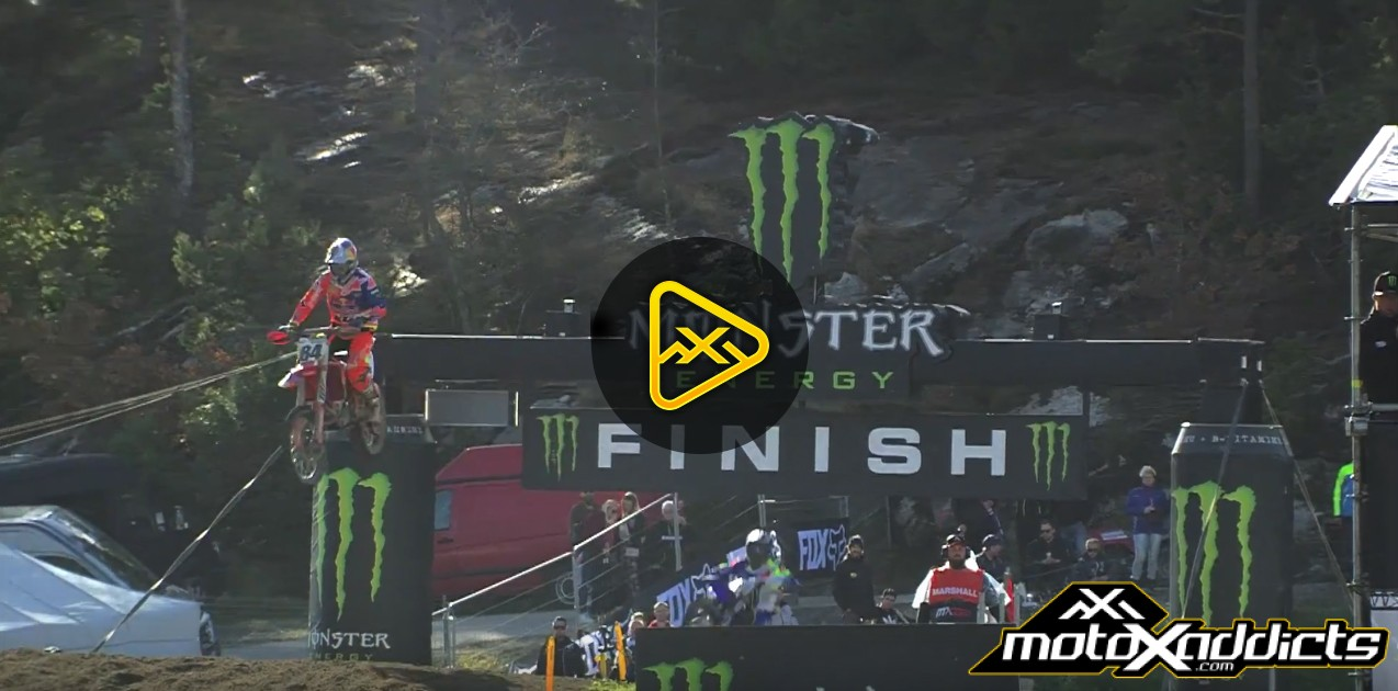 2017 MXGP of Sweden Qualifying Highlights