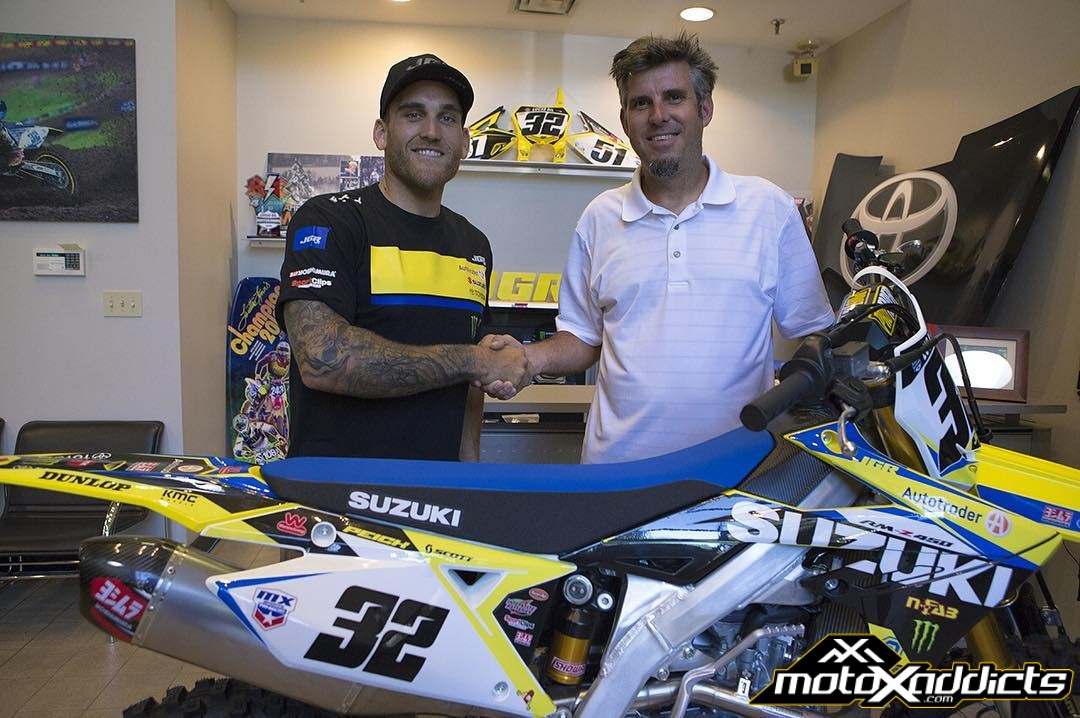 Justin Bogle and Weston Peick Sign with JGRMX / Suzuki