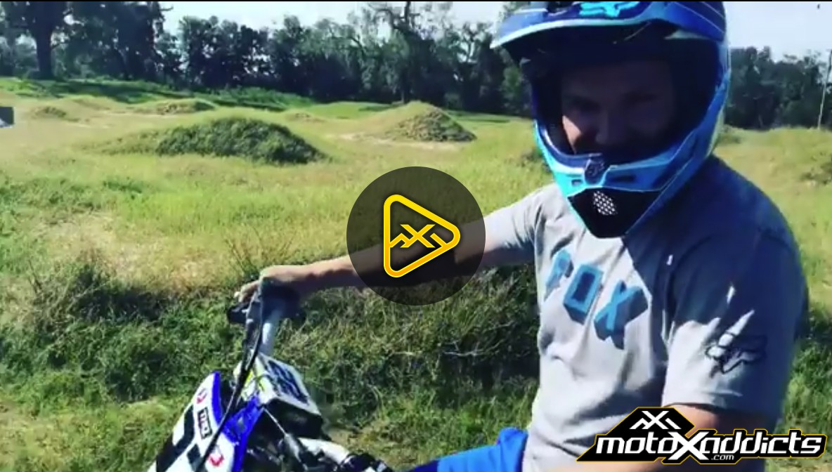 Chad Reed Rides the 2004 YZ250 Two Stroke