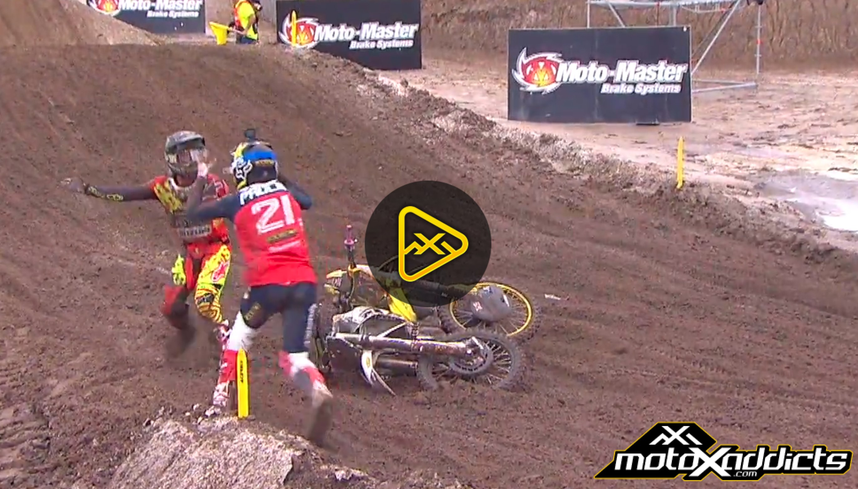 Best Moments & Crashes – 2017 MXGP of USA
