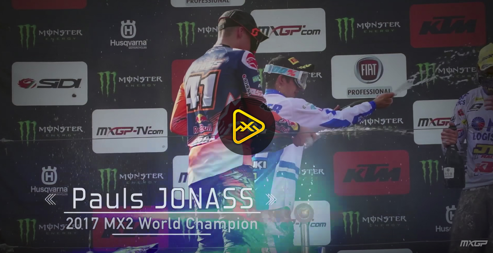 Pauls Jonass – 2017 MX2 World Champion