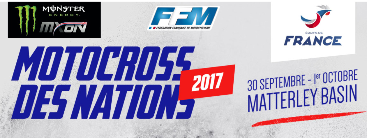 Charlier to Replace Ferrandis at 2017 MXoN for Team France