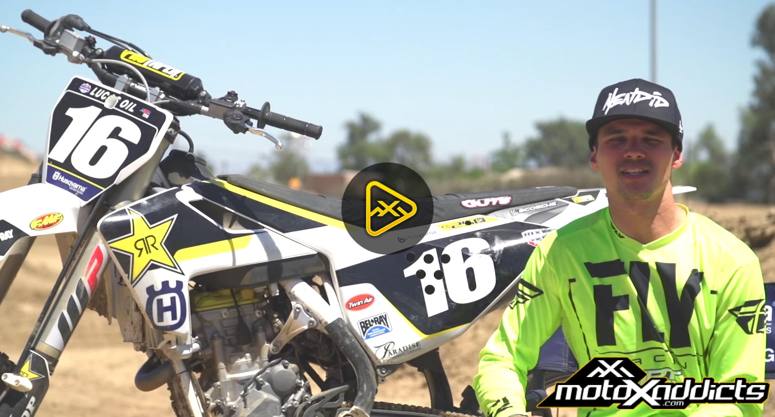 Ride Zach Osborne's SX Winning Husqvarna FC 250 Factory Bike