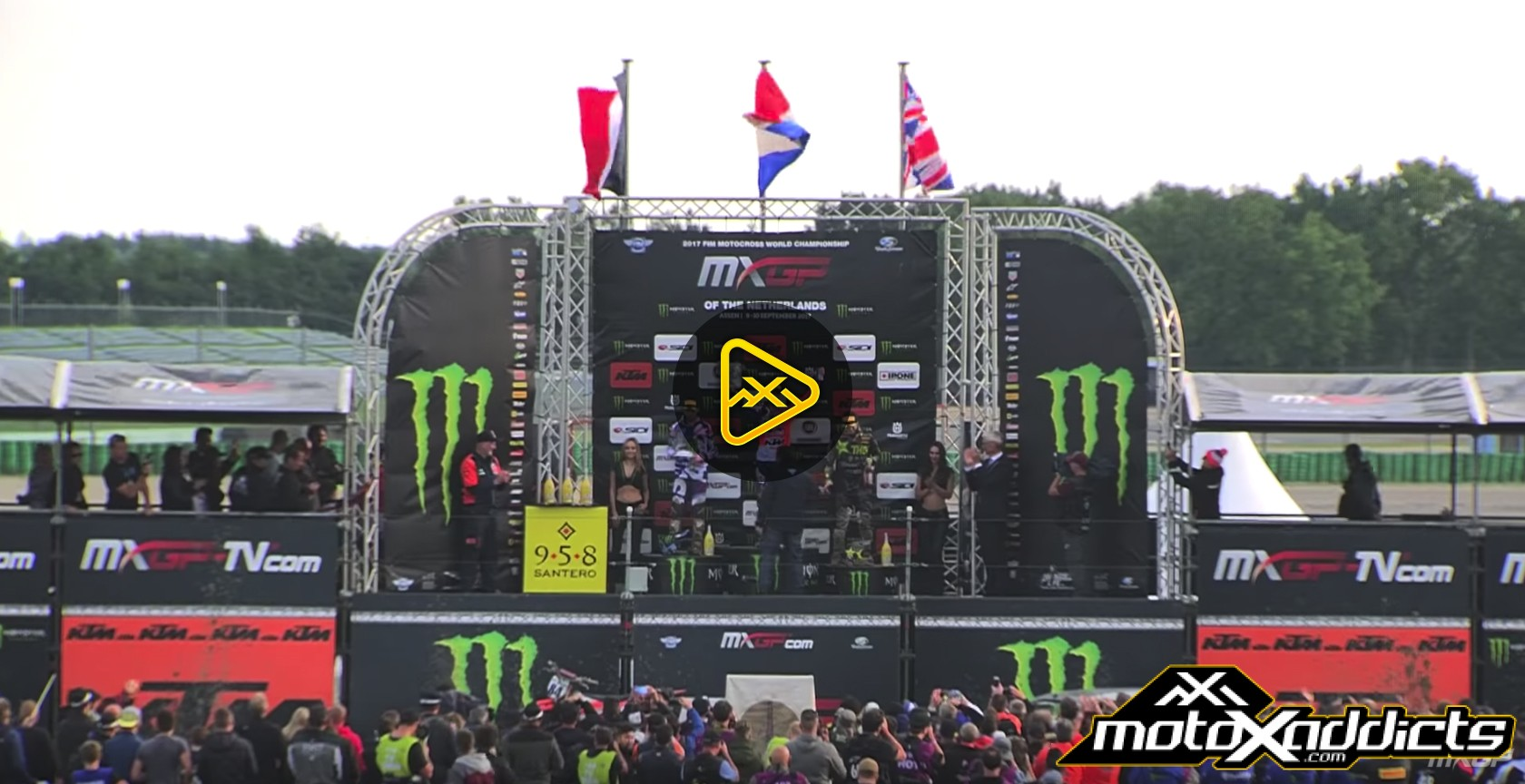 2017 MXGP of The Netherlands Highlights