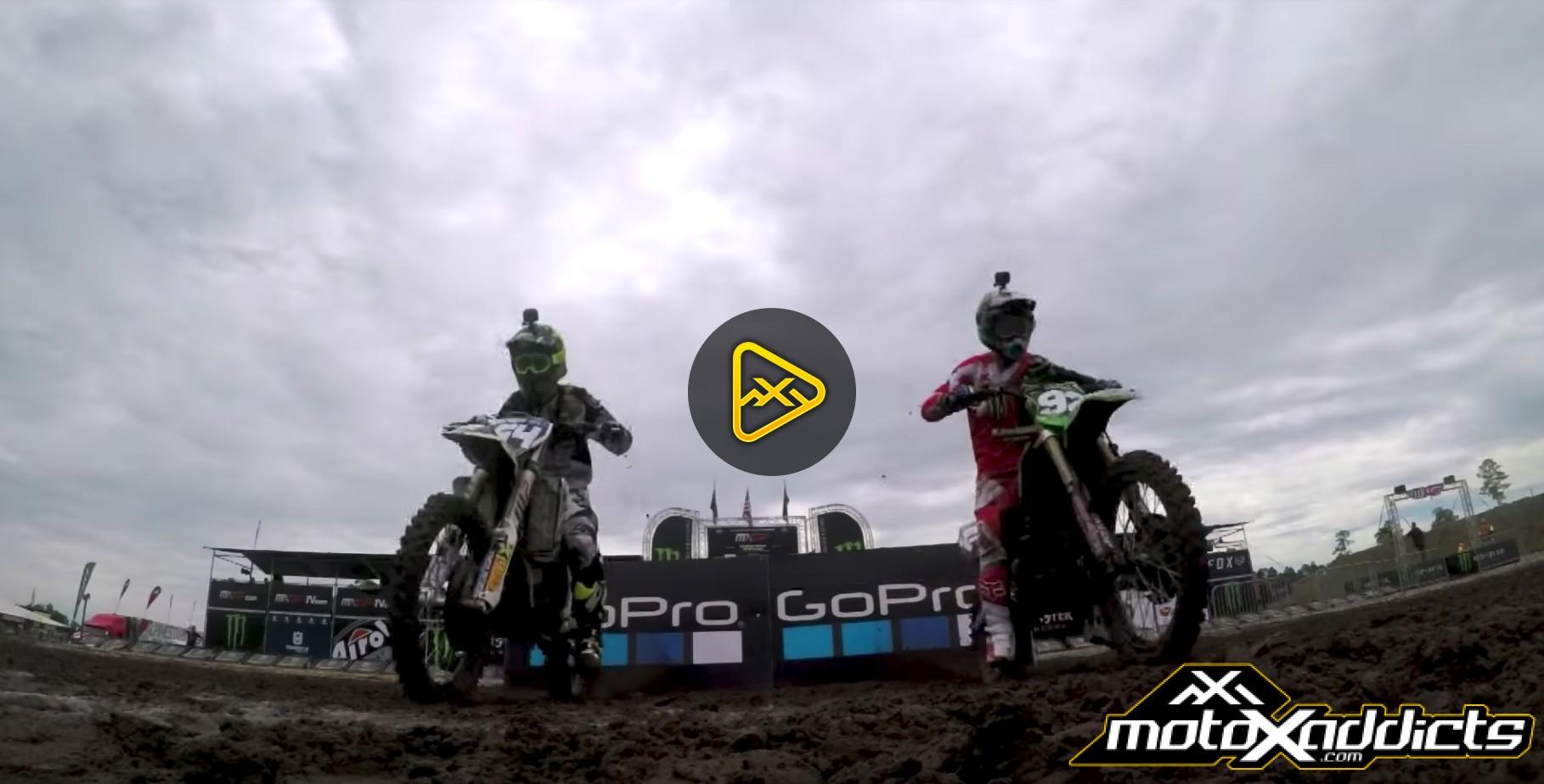 Helmet Cam: Covington & Cianciarulo – 2017 MXGP of USA