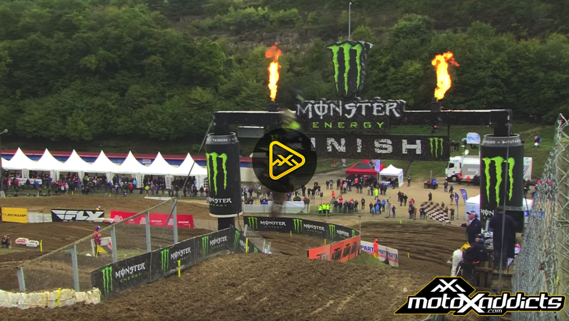 Qualifying Highlights 2017 MXGP of Pays de Montbeliard